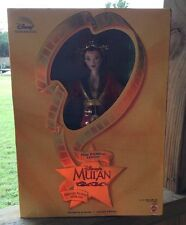 Barbie Doll Mulan Film Premiere Edition Imperial Beauty Disney Collector