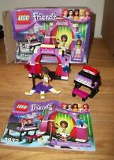 USED 2012 Lego Friends Andrea's Stage (3932) COMPLETE with ANDREA & INSTRUCTIONS