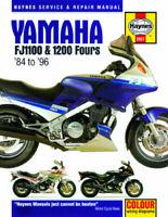 HAYNES SERVICE REPAIR MANUAL BOOK YAMAHA FJ1100 FJ 1100 / FJ1200 FOURS 1984-1996