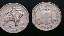 PORTUGAL / 10 ESCUDOS - BATALHA OURIQUE / 1928 / SILVER COIN