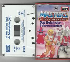 Masters of the Universe Kassette MC Folge 34 hellblau 5 x geschraubt EUROPA rar
