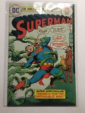 Superman 285 Very Good/Fine Vg/Fn 5.0 Glass Stain Ring Dc Comics
