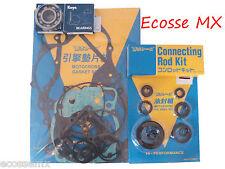 Suzuki RM125 1990 Gasket Set Con Rod Kit Seal Kit Crank Bearings