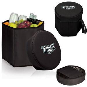 SB LII Champs Philadelphia Eagles NFL Black 12 Quart Bongo Insulated Cooler New