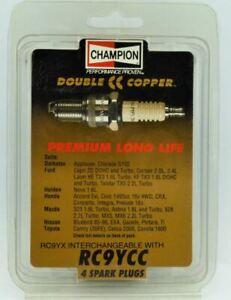 4 x CHAMPION RC9YCC COPPER CC Spark Plugs FITS MAZDA 323 1.6L Turbo, Astina 1.8L