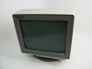 IBM InfoWindow II 3486 Green Monochrome Terminal Monitor Dirty