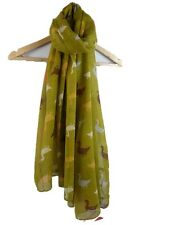 Duck Mallard  Print  Scarf/ Large Wrap Scarf in Choice of 4 Colours