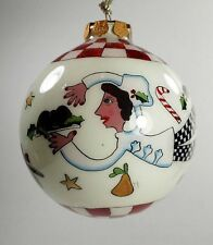Karen Rossi - Silvestri Fanciful Flights Chef Plum Pudding 2000 -Very good Cond