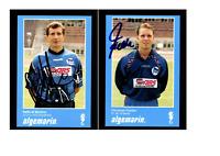 Autogrammkartensatz Hertha BSC Berlin 1994-95 25 Karten Original Signiert (1656)