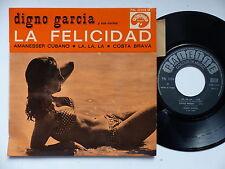 DIGNO GARCIA y sus carios La felicidad Amanesser cubano ... PAL 22034 M