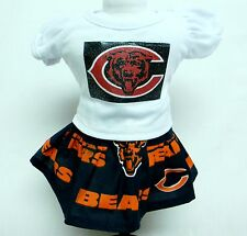 Chicago Bears Theme Outfit For 18 Inch Doll