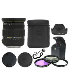 Sigma 17-50mm f/2.8 EX DC OS HSM Zoom Lens for Canon DSLR + Deluxe Accessory Kit