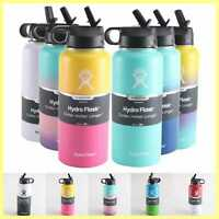 Water Bottle Hydro Flask 32OZ Stainless Steel & Vacuum Insulated with Straw Lid