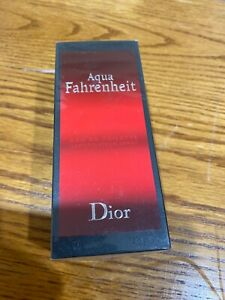 Christian Dior Aqua Fahrenheit COLOGNE Men 125ml-4.2oz EDT SPR Discontinued BA24
