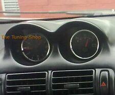 For Mitsubishi FTO 94-00 2x Rings For Clock & Volt Polished Aluminium Surrounds