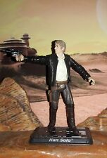 "Star Wars CUSTOM The Force Awakens Han Solo 4"" figure (Fully Articulate) 2 weeks"