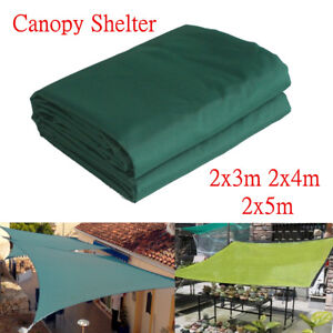Sun Shade Sail Canopy Tent Outdoor Shelter Patio Garden 3/4/5m Water  US! CA3