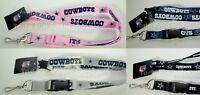 Dallas Cowboys Lanyard Key Ring Keychain Cowboys ID Holder Cowboys Llavero