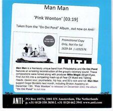 (EL168) Man Man, Pink Wonton - 2013 DJ CD