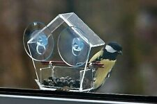 Small window mount bird feeder Outdoor accessory 2 Strong suction cup