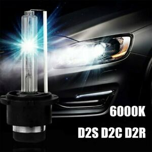2X D2S D2R D2C HID Xenon Headlight Bulbs Lamp Low Beam 6000K DIAMOND WHITE 55W