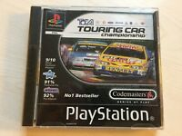 TOCA Touring Car Championship Game PS1 Sony Playstation 1 UK PAL