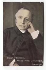 Bishop of Liverpool, Francis James Chavasse - old postcard