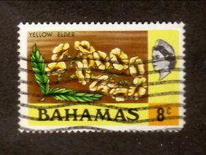 Bahamas--#320 Used--1971 Yellow Elder