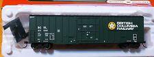 Atlas HO #20002899 British Columbia Railway NSC 5277 PD Box Car Road #851001