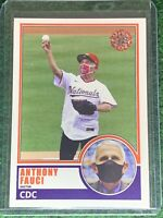 Dr. Anthony Fauci 1983 Inspired ACEO Custom 2020 MLB First Pitch Glossy SP