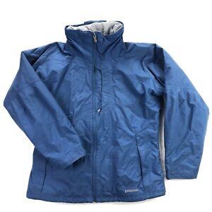 Patagonia Puff Bowl Womens Large Blue Insluated Ski Snowboard Jacket