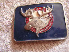 Vintage PAP Loyal Order of Moose Belt Buckle