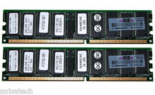 Hp Kit De 4gb 2x2 Gb Ddr333 pc2700r Ecc 358349-b21 367553-001 331563-051 371049-b21