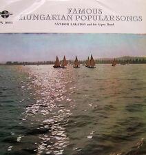 DISCO 33 GIRI S-ndor Lakatos And His Gipsy Band ? Famous Hungarian Popular Songs