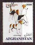 Fox Jack Russell Terrier Dogs stamp
