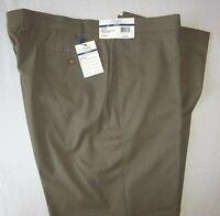 Polo Ralph Lauren Mens Dress Pants Comfort Flex Taupe Check Slim Fit 36x32 NWT