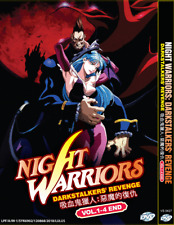 DVD ANIME NIGHT WARRIORS: DARKSTALKERS' REVENGE 1-4 *ENGLISH DUB*