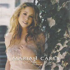 CD CARTONNE CARDSLEEVE 4T MARIAH CAREY THROUGH THE RAIN EDIT. LIMITE