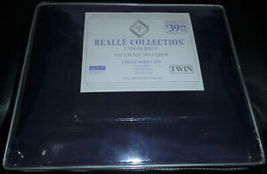 Realle Collection 1700 Series 3 Piece Twin Sheet Set Plush Micro Fiber BRAND NEW