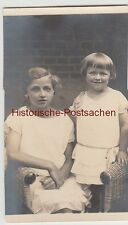 (F6170) Orig. Foto Hermsdorf, 2 Mädchen (Lotta Günther) 1926