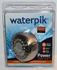 Waterpik PowerSpray Plus Showerhead Brushed Nickel w/ 5 settings 1.8 gpm