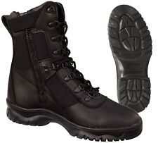 """Tactical Boots 8"""" Insulated Side Zipper Thermoblock & Waterproof Boots 5073"""