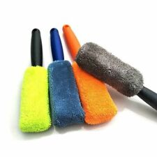 Car Microfiber Wheel Brush Soft Tire Rim Cleaner Washer Detailing Auto Care Tool