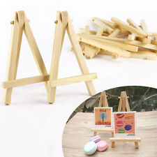 10pcs Mini caballetes de madera Altura 12cm para recuerdo Boda Fiesta