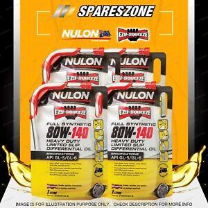 Nulon Full SYN 80W-140 Differential Oil 4L for ISUZU D-MAX NLS NPR NPS