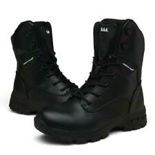 Men's Tactical Military Boots High Top Outdoor Hiking Shoes Camouflage Sneakers