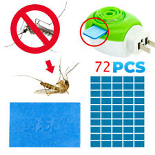 72PC Mosquito Repellent Insect Bite Mat Tablet Refill Replace Pest Repeller Kits