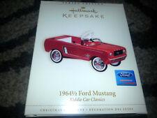 2006 HALLMARK Keepsake 1964 1/2 FORD MUSTANG Ornament KIDDIE CAR CLASSICS New