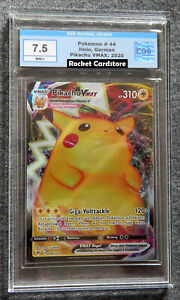 Pokemon Pikachu Vmax 44/185 Farbenschock Deutsch PSA / EGS 7,5 NM+