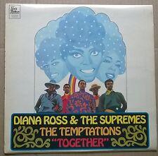 "D.ROSS & SUPREMES/TEMPTATIONS ""Together""  1969 T. MOTOWN label vinyl  LP   A1/B1"